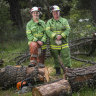 'Mum's a firefighter': the women battling bushfires