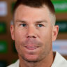 Warner blocks out negative thoughts