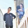 Giant Melbourne mural humbles Jacinda Ardern