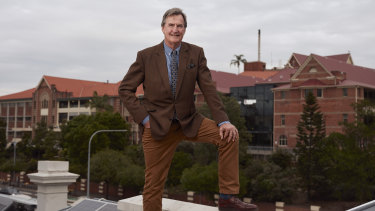 Brisbane entrepreneur Steve Wilson - says it is time both Brisbane City Council and the state government took action to resolve the deterioration of Lamb House. if the opportunity arises; he is interested in buying and restoring the property.