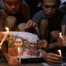Philippine policemen jailed for 40 years for killing teen who just wanted to go to school