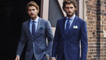 Kingston suits at M.J. Bale.