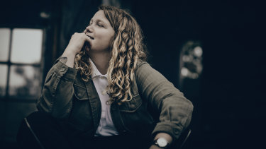 "Kate Tempest: ""Yeah, I'm really happy at the moment."""