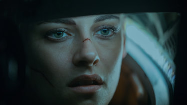 Barely a Ripley: Kristen Stewart as Norah in Underwater.