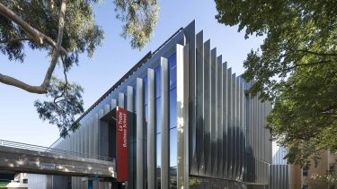 La Trobe University's Business School was redesigned by Hayball.