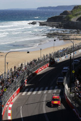 Life's a beach: The stunning setting for the weekend's final Supercars event of the season.