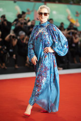 Meryl Streep poses at the 76th edition of the Venice Film Festival.