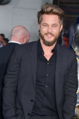 Travis Fimmel, pictured here in 2016, is the biggest name in the film, as far as international audiences go.