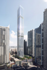 Ingenhoven and Architectus have won the international design competition for the mixed-use tower at 505-523 George Street, owned by Mirvac and Coombes Property Group.
