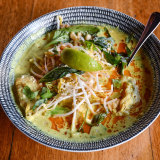 The laksa at Vegie Bar.