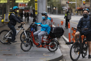 Food delivery services in Sydney are booming.
