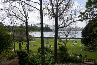 Locked down Sydneysiders have lost none of their enthusiasm for picnics.