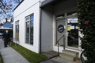 The owner of The Organic Store, Bowral and a customer were arrested after an incident with police.