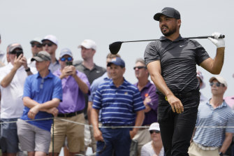 2015 winner Jason Day during a practice round ahead of the PGA Championship at Kiawah Island, South Carolina.