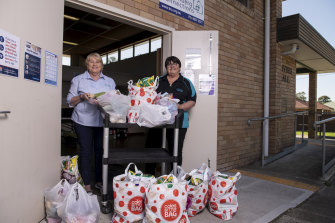 Patricia Hall and Sharon Ward, who is an outreach coordinator have received government funding to continue to provide food parcels to disadvantage community members.