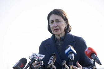 Premier Gladys Berejiklian says NSW could also see a spike on COVID-19 cases.
