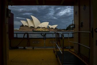 Public transport across Sydney has seen a decline in passenger numbers since the coronavirus lockdown.