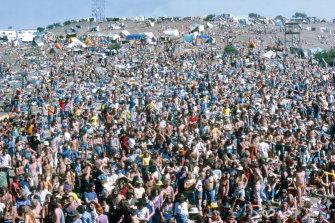 The 1972 Sunbury Festival.