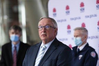 NSW Minister for Health Brad Hazzard on Saturday.