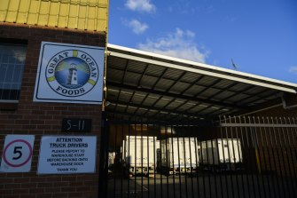 Ten of the new cases have been linked to the Great Ocean Foods seafood wholesaler in Marrickville.
