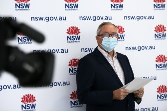NSW Health Minister Brad Hazzard signed off on the amendments on Wednesday afternoon.
