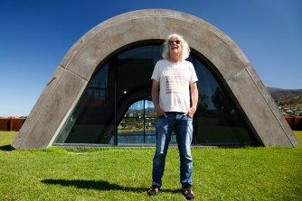 David Walsh, owner of Mona in Hobart, Tasmania.