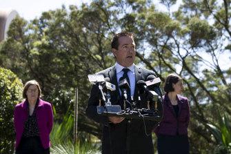 NSW Regional Roads Minister Paul Toole.