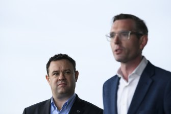 Treasurer Dominic Perrottet and Tourism Minister Stuart Ayres have shown support for trialling home quarantine.