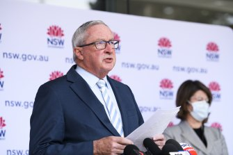 Small wedding ceremonies will be allowed from Friday, says Health Minister Brad Hazzard.