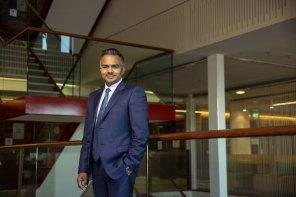 New Stockland chief executive Tarun Gupta.