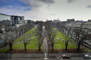 University Square before its redevelopment.