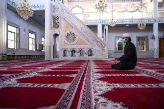 Imam Osman Boyaci says religious leaders at the Gallipoli Mosque have been providing assistance and comfort where they can.