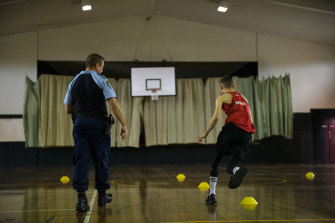 Police in Lismore hold regular fitness sessions for young people interested in joining emergency services as part of the Fit4Service program.