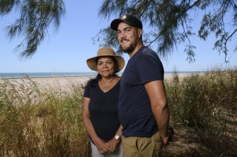 Cian McCue and his mother Camille Damaso. Cian was enrolled as a newborn in a longitudinal study called Australia's own 7 up program.