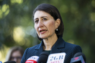 Up to two adults will be allowed to visit other people at their homes as of Friday, NSW Premier Gladys Berejiklian has announced.
