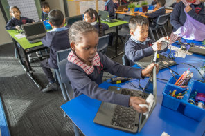 More than one million Victorian students returned to the classroom on Wednesday morning.
