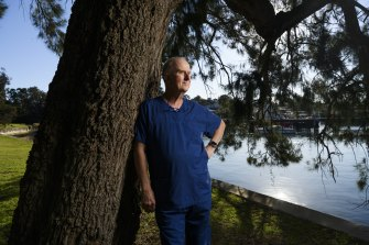 Retired nurse Bruce Dowd, 63, has returned to the COVID-19 frontline.