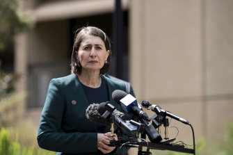 NSW Premier Gladys Berejiklian approved more than $100 million going to councils in Coalition seats in the lead up to the state election.
