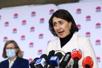 Premier Gladys Berejiklian warned Sydney's coronavirus outbreak would worsen.