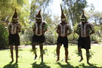 A ceremony was held at The Museum of Central Australia for the return of Arrernte, Warlpiri and Warumungu cultural heritage material.