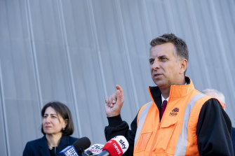 NSW Transport Minister Andrew Constance said the new M8 could be open within the week.