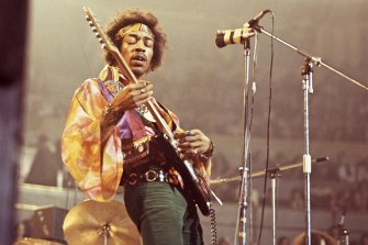 'The best guitarist who ever lived or will live': Jimi Hendrix on stage.