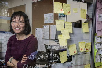 Helen Tam is responsible for calculating the ATAR of 57,000 school leavers.