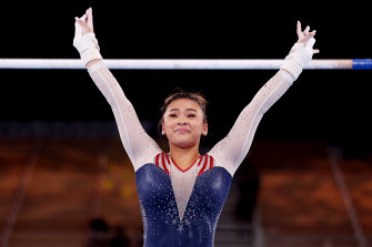 From out of Simone Biles' shadow, America discovers a new star