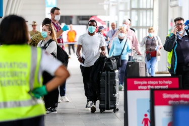 Snap review of hotel quarantine amid fears international arrivals will spread virus