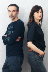 Olinka Vistica and Drazen Grubisic, founders of the Museum of Broken Relationship.