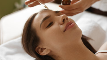 Face oils have been gaining popularity.