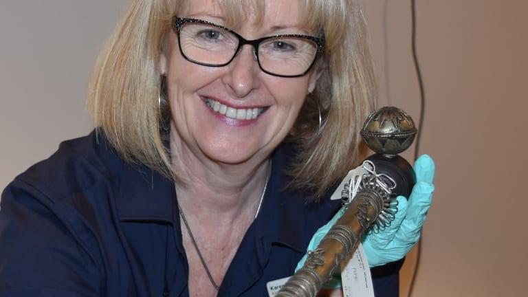 Queensland Collection Manager for Anthropology Karen Kindt.