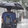 Heavy rainfall dumped on SEQ ahead of long weekend