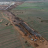 Rail yard turned toxic waste dump could force ghost trains to Geelong